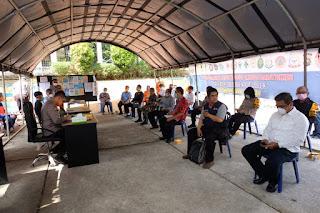 Kapolda Jambi Pimpin Briefing Posko Gugus Tugas Covid-19 Provinsi Jambi
