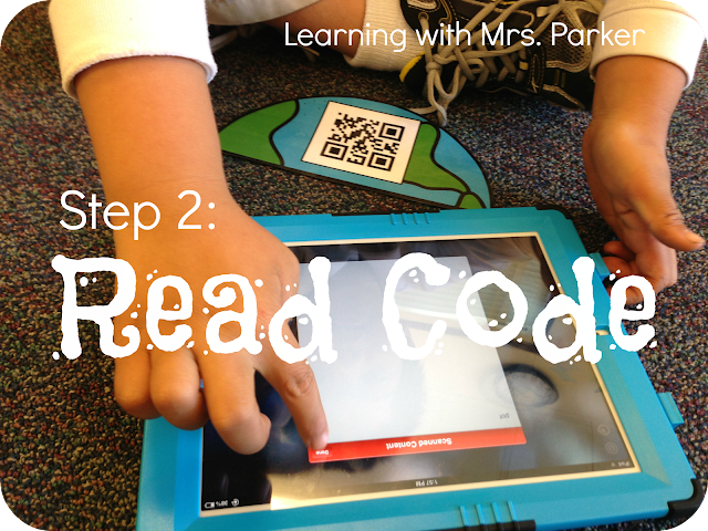 QR Codes in kindergarten