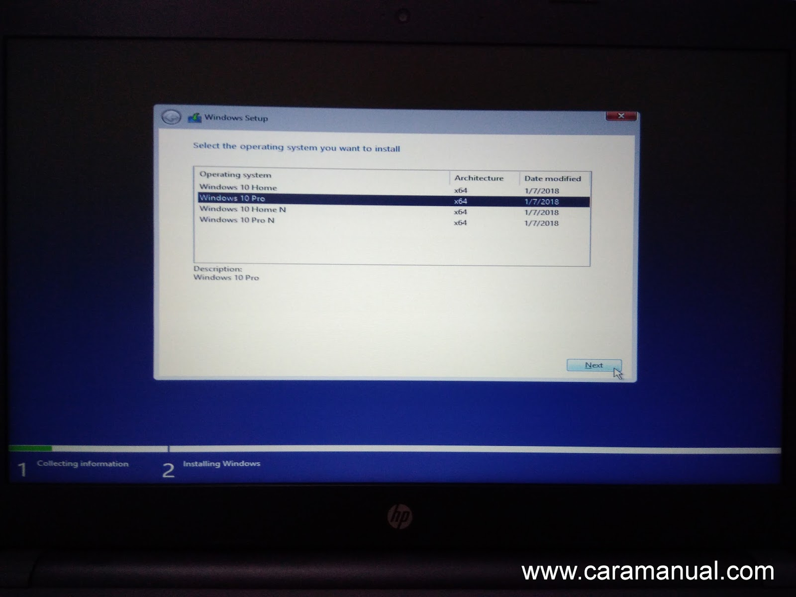Instal Windows 10 Dengan Flashdisk di Laptop Non-OS 3