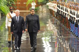 Visita Maduro a Díaz-Canel Cuba