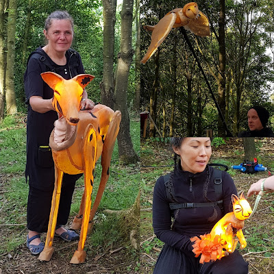Timber Festival 2019 Woodland Puppeteers