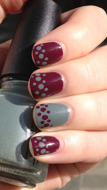 China Glaze Purr-fect Plum China Glaze Elephant Walk