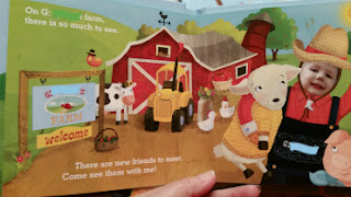 My Farm Friends book sample