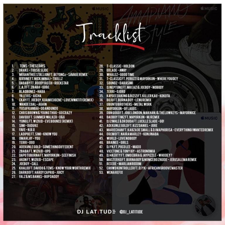 "DJ Latitude – ""The Difference Mixtape"" #Arewapublisize"