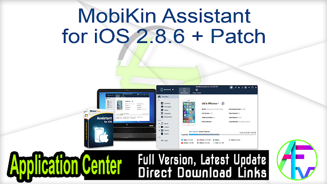 MobiKin Assistant for iOS 2.8.6 + Patch
