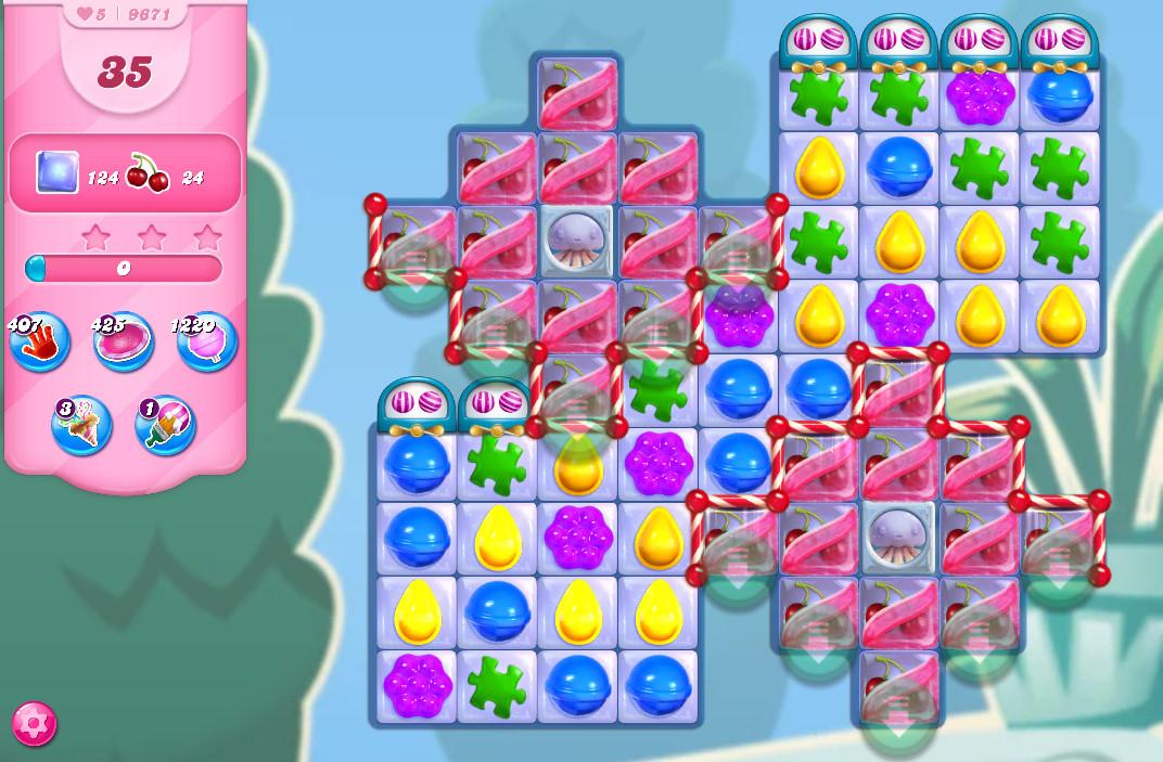 Candy Crush Saga level 9671