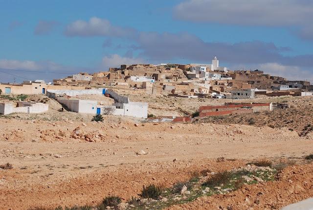 vue d'ensemble du village de Tamezret