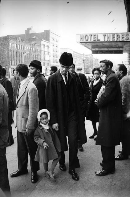 Fotografías de Malcolm X el día antes de ser asesinado