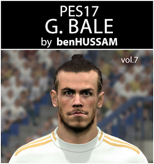 PES 2017 Faces Gareth Bale by BenHussam