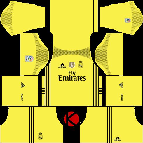 official photos 7e5e3 08008 Real Madrid Kit 2016 Dream Soccer 2017