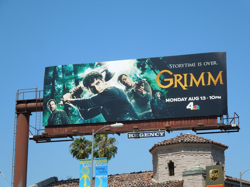 Grimm season 2 billboard