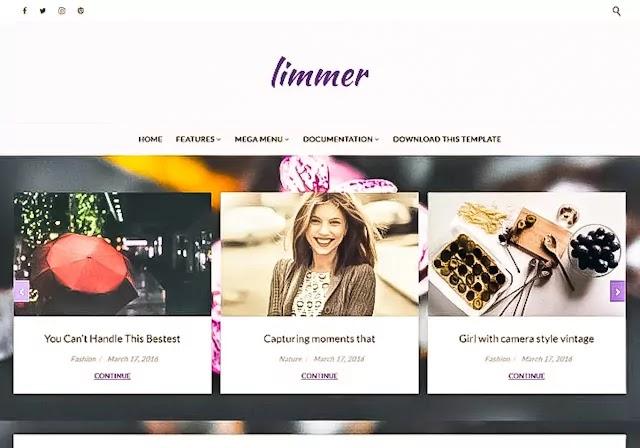 Limmer Blogger Template
