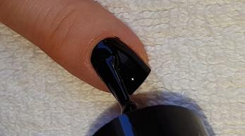Life World Women Blobbicure Gemstone Nail Art Turquoise Nails