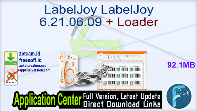 LabelJoy LabelJoy 6.21.06.09 + Loader_ ZcTeam.id