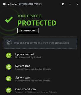 Antivirus BitDefenfer
