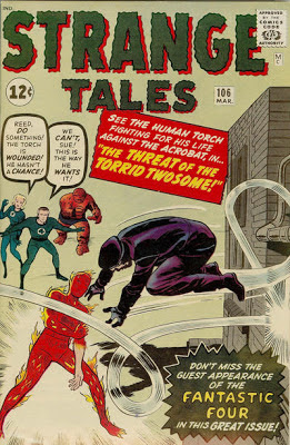 Strange Tales #106, the Human Torch