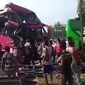 Bus Tabrakan di Tol Tangerang-Merak, 17 Orang Terluka