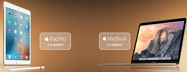 sorteo ipad y macbook