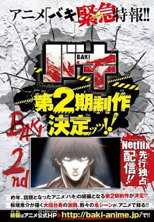 تقرير أونا باكي Baki 2nd Season الموسم الثاني