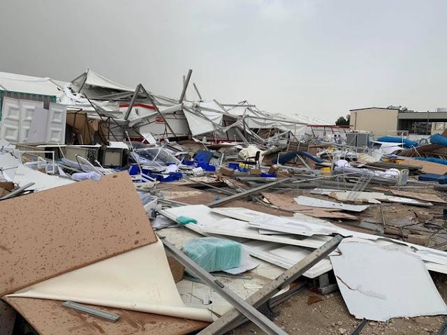 المشفى الميداني قطر