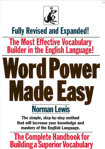 Word Power Made Easy: Expanded and Completely Revised Edition