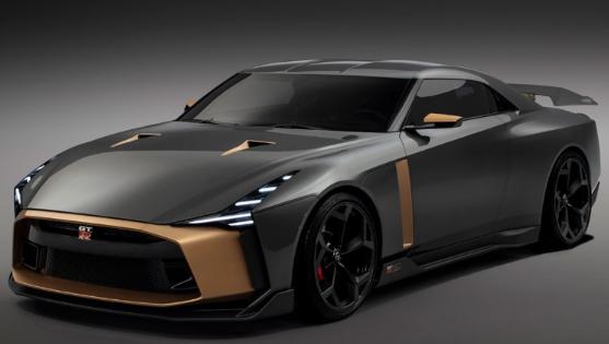 2020 Nissan GT-R50 redesign