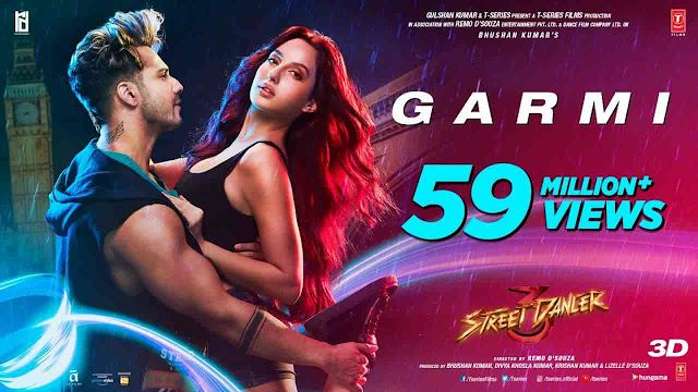 Garmi Lyrics - Street Dancer | Badshah, Neha Kakkar