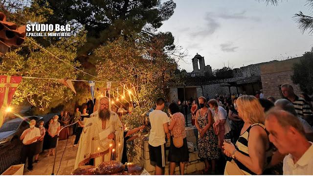 Ναύπλιο: Γιορτάζουν οι Άγιοι Ανάργυροι στο κάστρο της Ακροναυπλίας