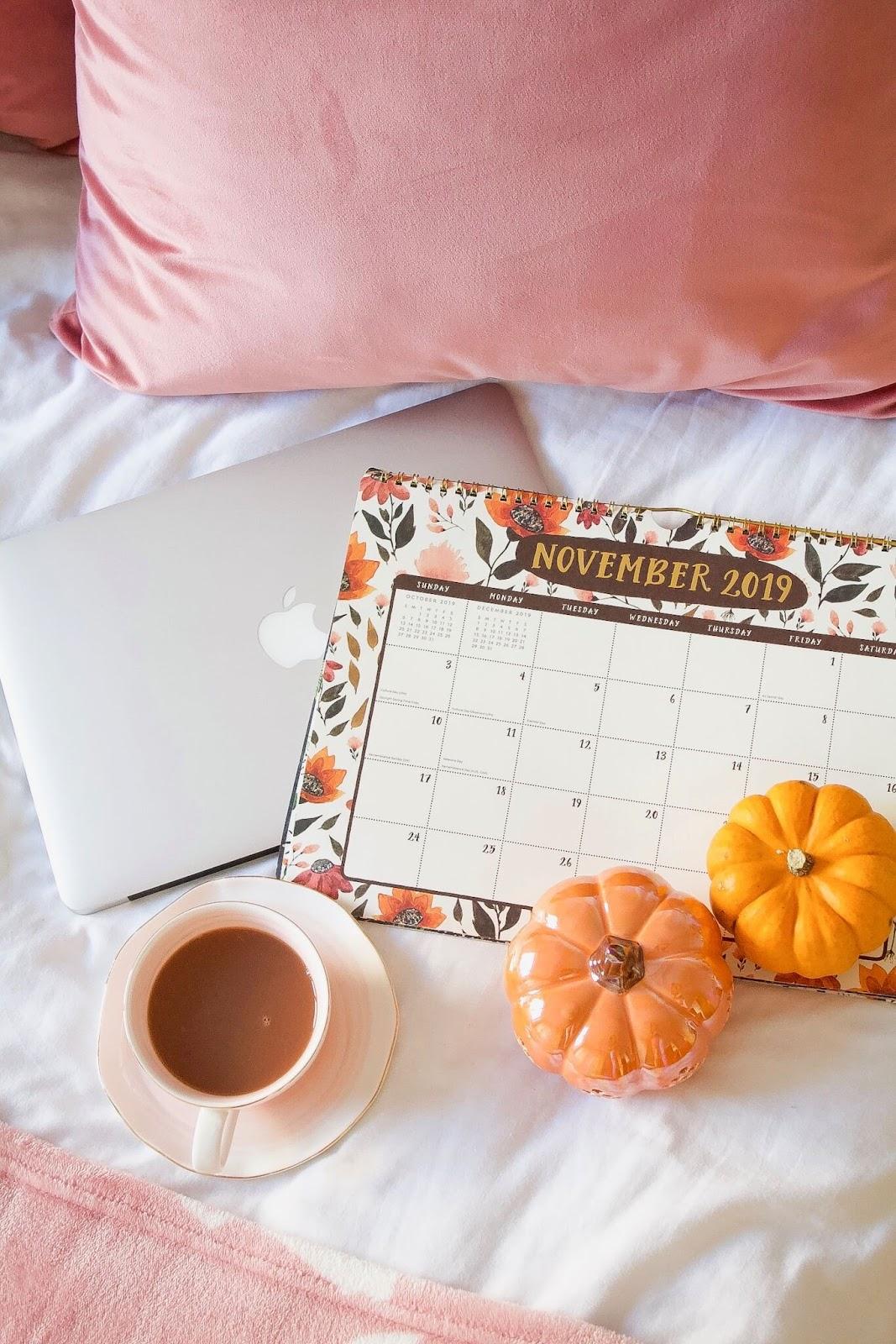 November To Do List