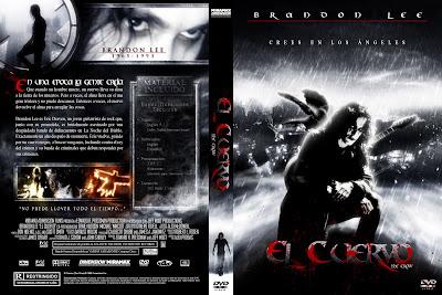 Carátula dvd: El cuervo 1994