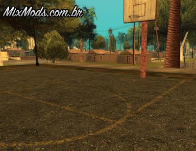 gta novas quadras de basquete