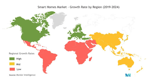 Smart Homes Market Expected to Grow at a CAGR of 25% - Exclusive Report by Mordor Intelligence