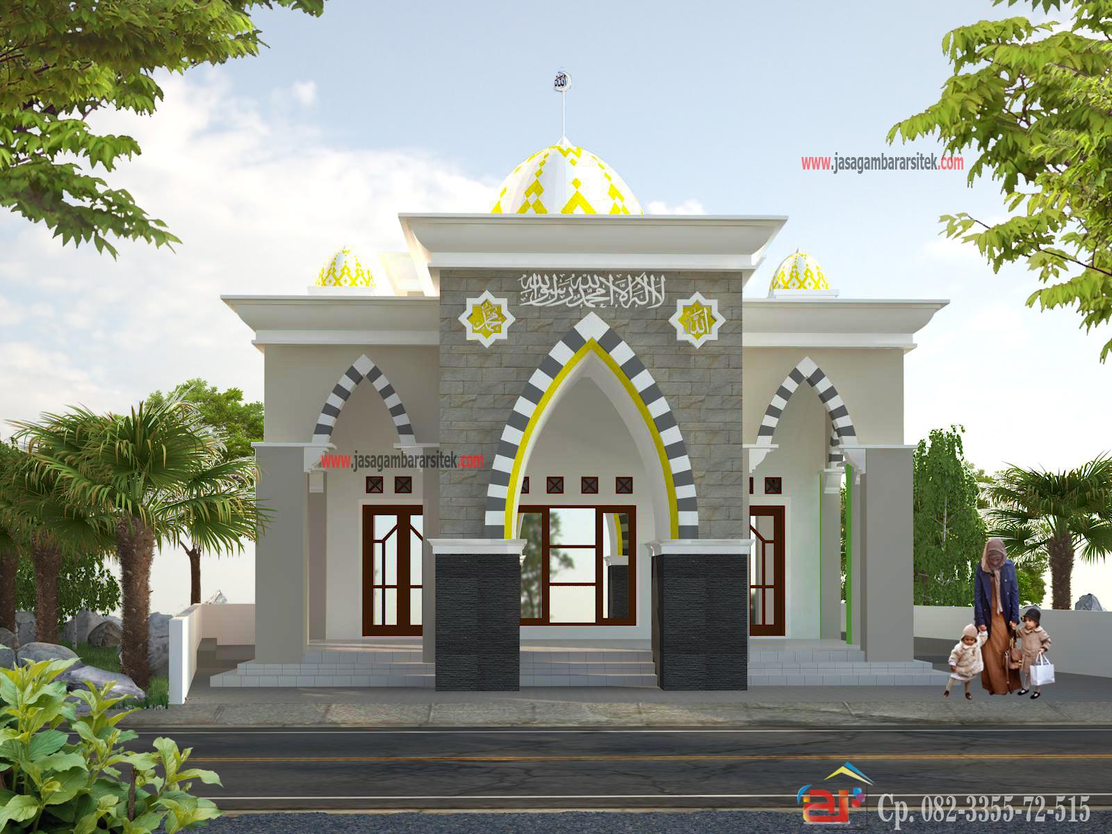 Masjid Minimalis 2016 Layanan Jasa Gambar Arsitek
