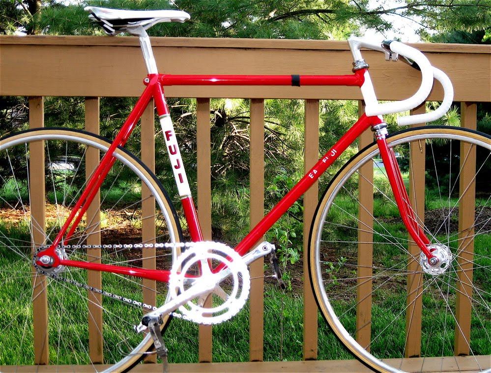 Fuji Crazy: Please Welcome My Fuji Track Bike