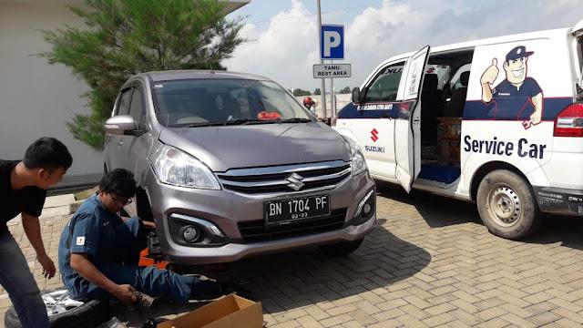 Bermasalah di jalan hubungi Suzuki Service Car