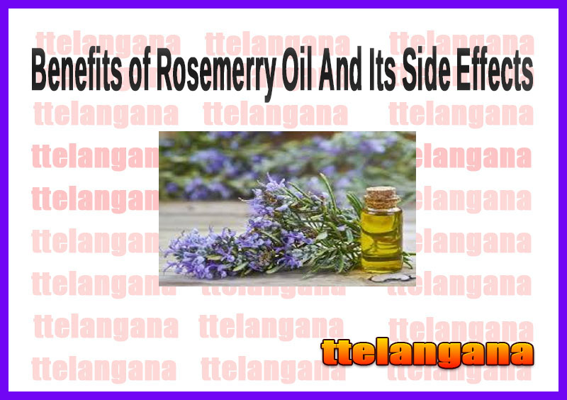 Benefits of Rosemerry Oil And Its Side Effects
