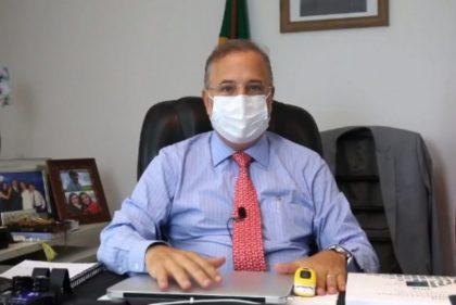 Fábio Vilas-Boas : Vencedor do Coronavírus | secretário da Saúde da Bahia  Vencedor do Coronavírus | secretário da Saúde da Bahia retorna ao trabalho três dias depois de ter alta médica