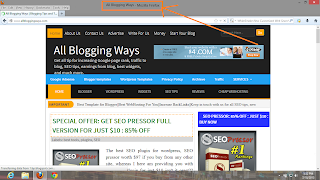SEO title Tag for blogger