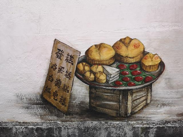 Tiong Bahru mural - Pasar & Fortune Teller
