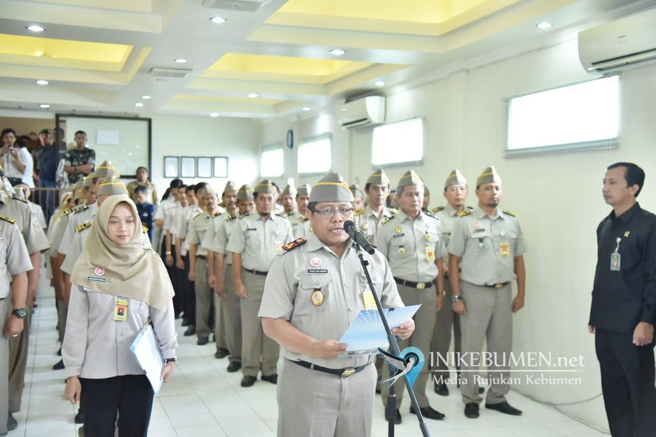 Wujudkan Birokrasi Bebas Korupsi, Kantor Pertanahan Kebumen Canangkan Zona Integritas