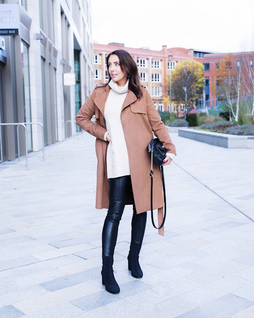 trench coat over 40 style