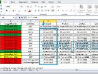 Cara cek umur sertifikat pelaut dengan menggunakan aplikasi Microsoft Excel
