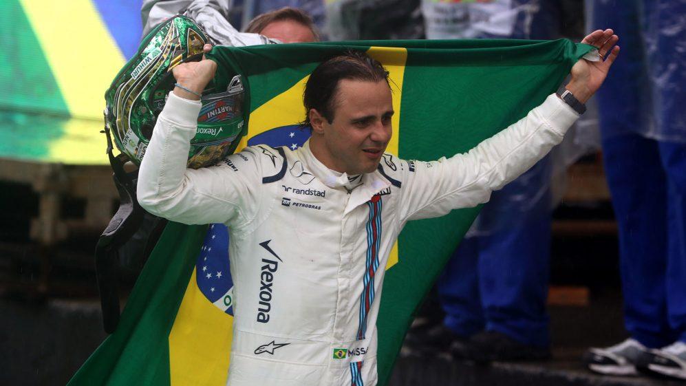 O que era então a corrida final em casa de Felipe Massa, acrescentada ao senso de ocasião, e trouxe uma grande dose de emoção com ele ...