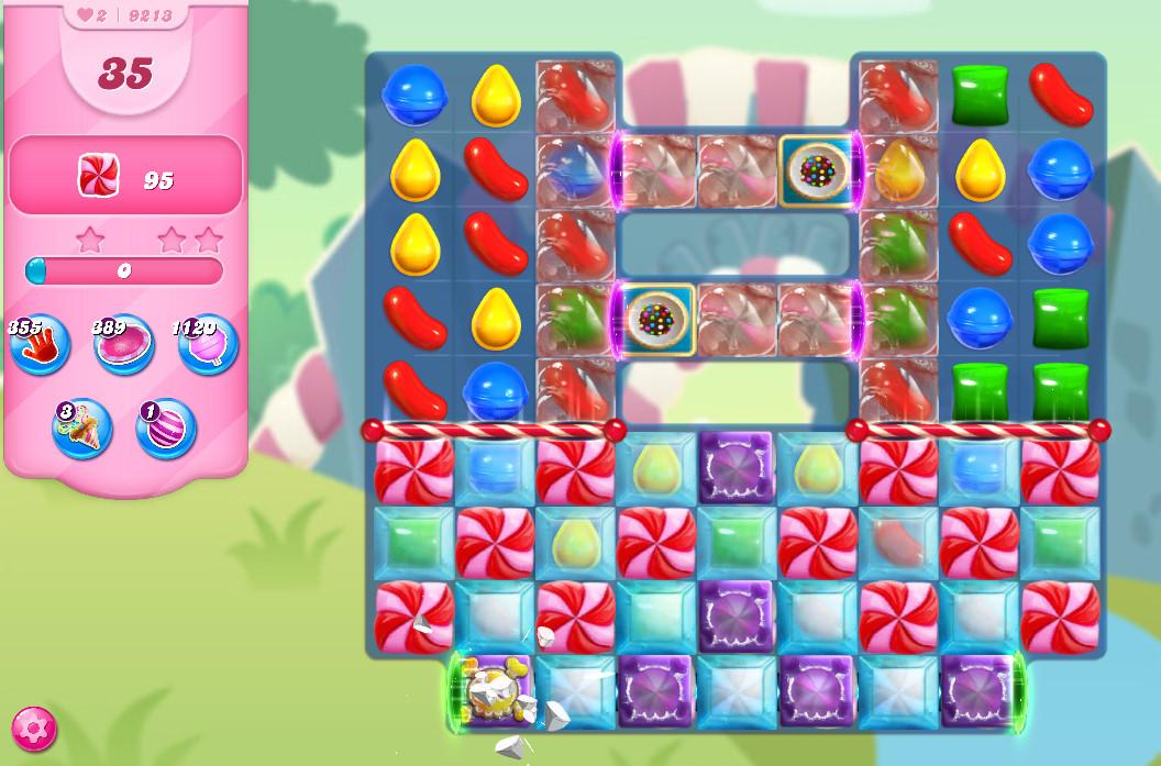 Candy Crush Saga level 9213