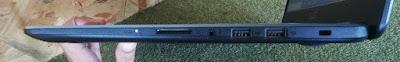 Sisi kanan ASUS VivoBook X505Z