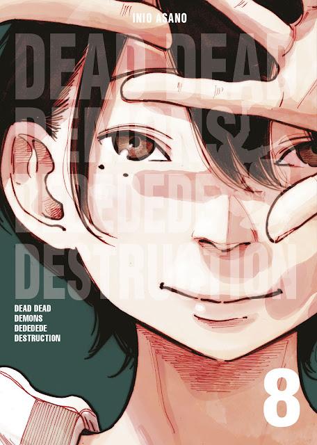 Review de Dead Dead Demons dededede Destruction Vol.8 de Inio Asano - Norma Editorial