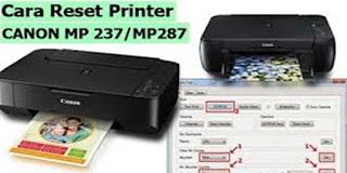 Cara Reset Tinta Printer Canon MP237