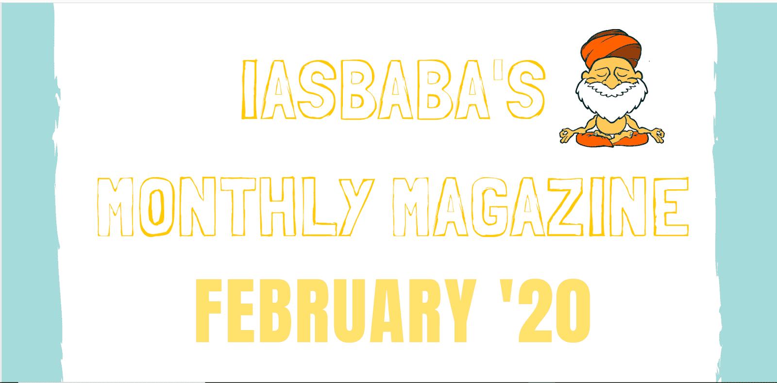 iasbaba Current Affairs February 2020