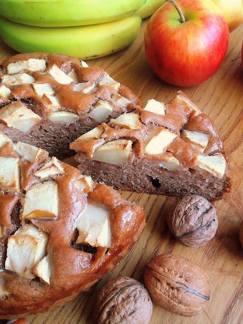 Łatwe ciasto z jabłkami / Easy Apple Cake
