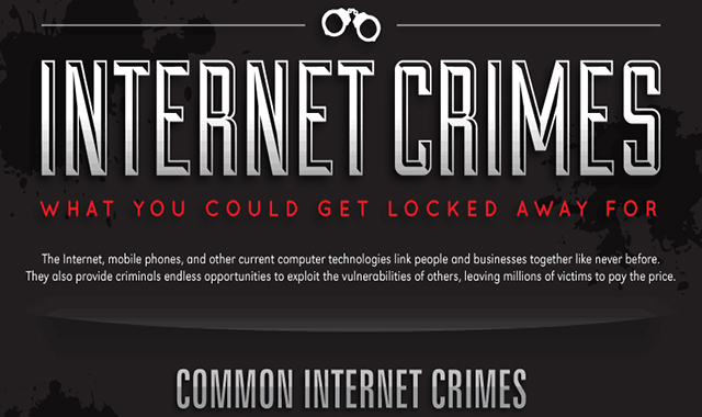 Internet Crimes #infographic